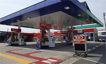 小浦石油株式会社 赤坂台車検センター 外観